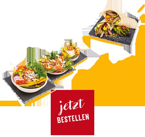 frische Wraps & leckere Bowls
